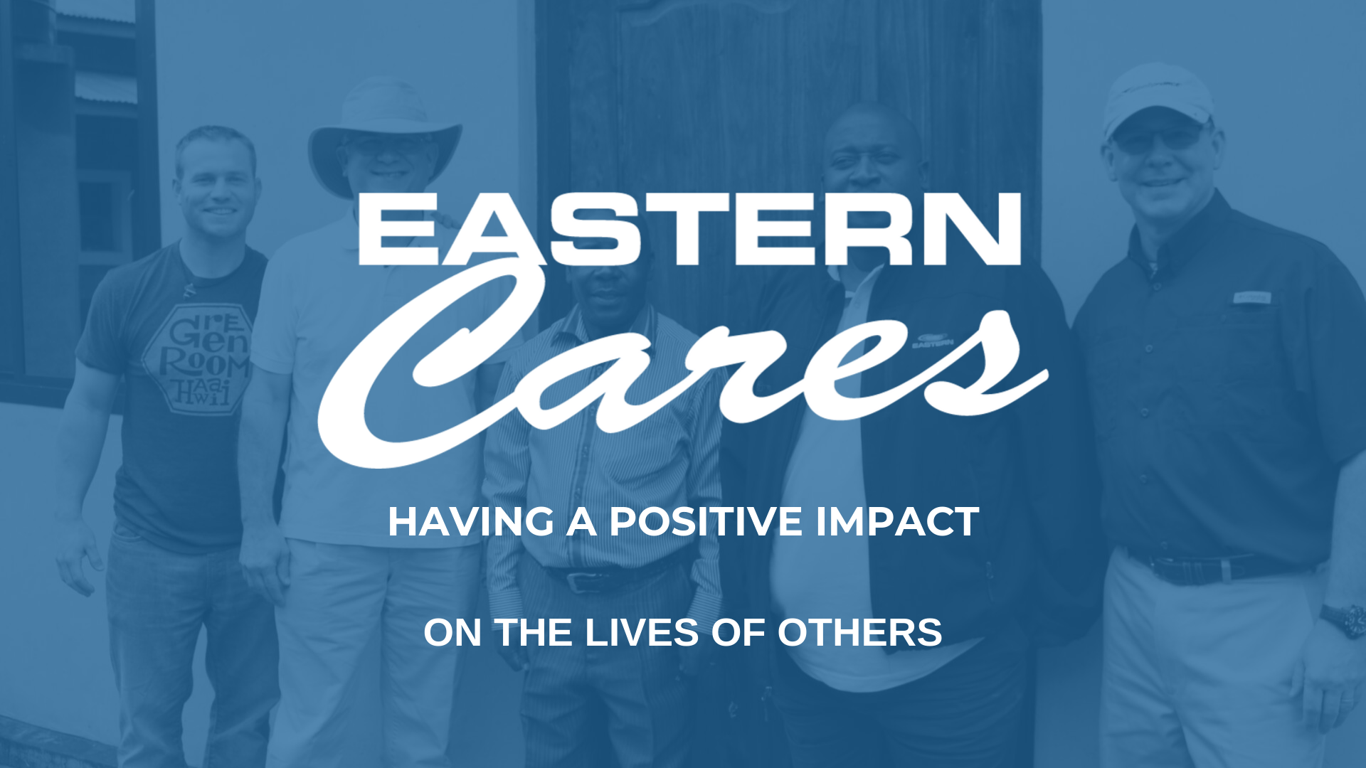 Eastern Cares Logo Having a Positive Impact on the Lives of Others