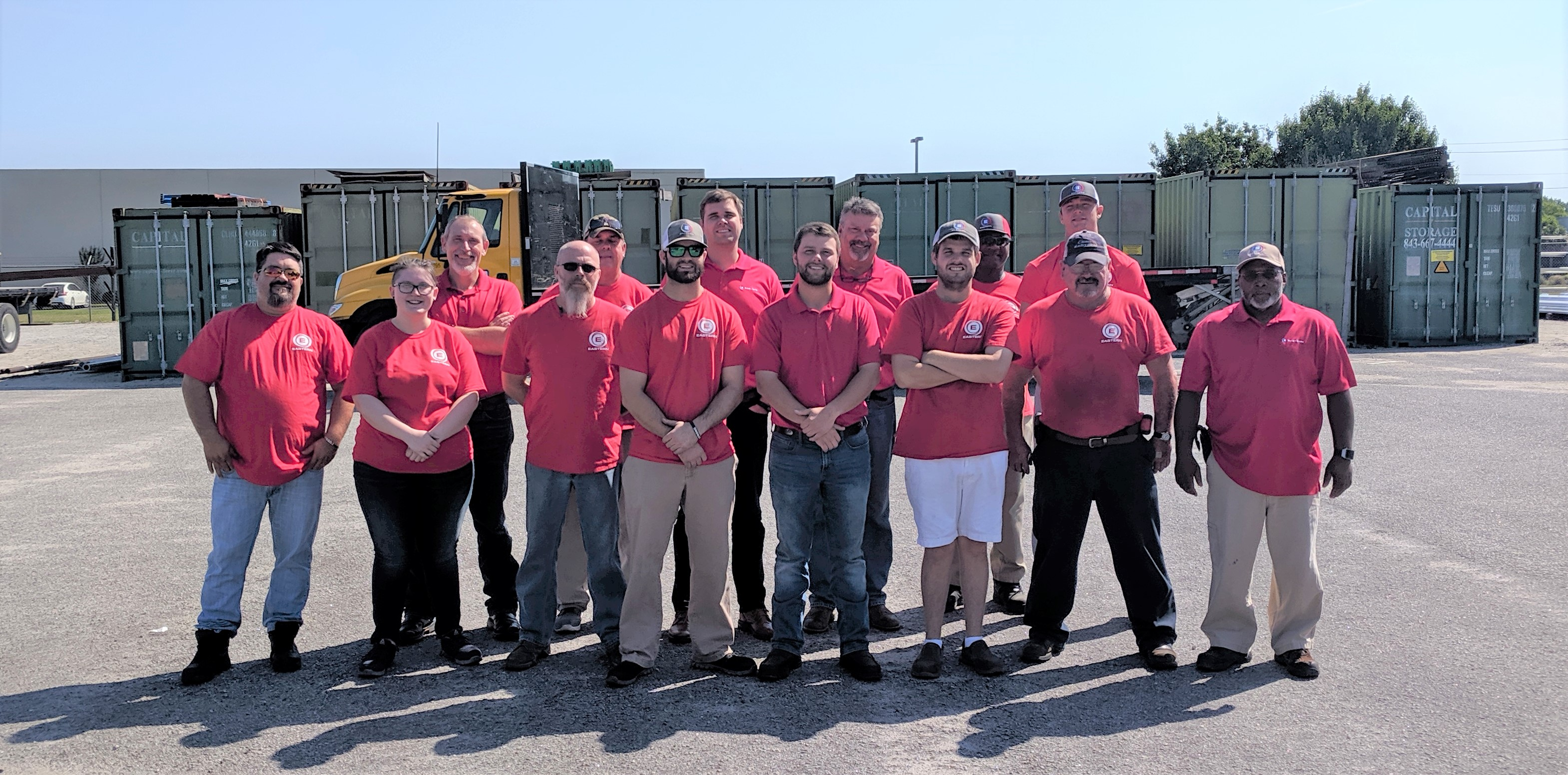 Florence Team Wearing Red Shirts for Veterans