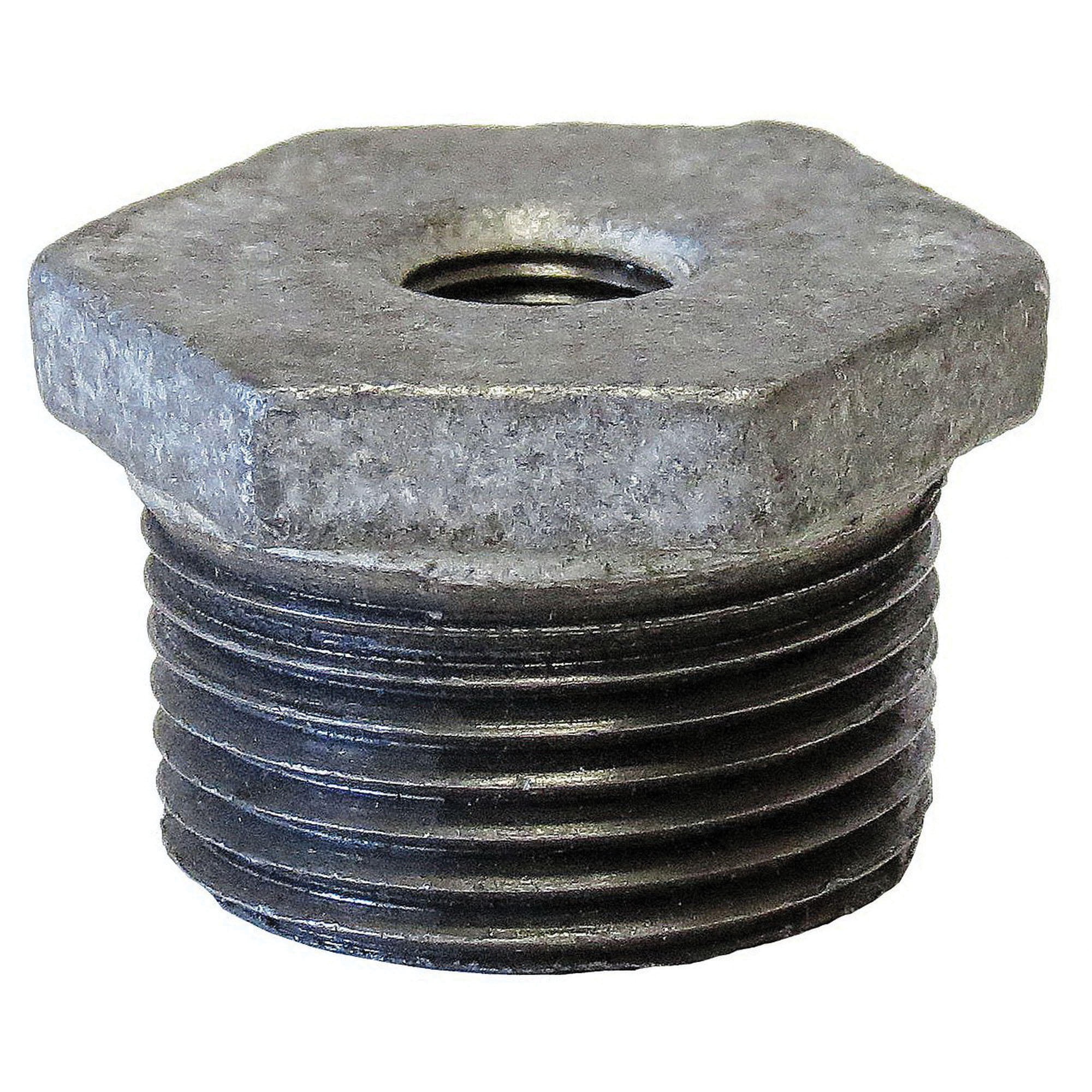 Merchant Steel Class 300 SCH 80 Hex Bushing, 3/4 in x 1/2 in, MNPT x FNPT, Domestic, 100/CT
