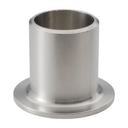 316L Stainless Steel SCH 40 Type A Stub End, 3 in, Butt Weld, Import