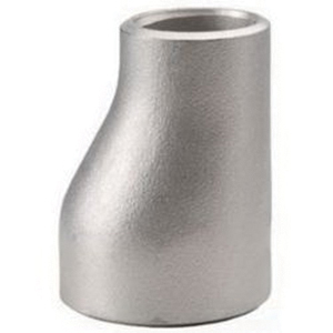 304L Stainless Steel SCH 10 Eccentric Reducer, 6 in x 3 in, Butt Weld, Import