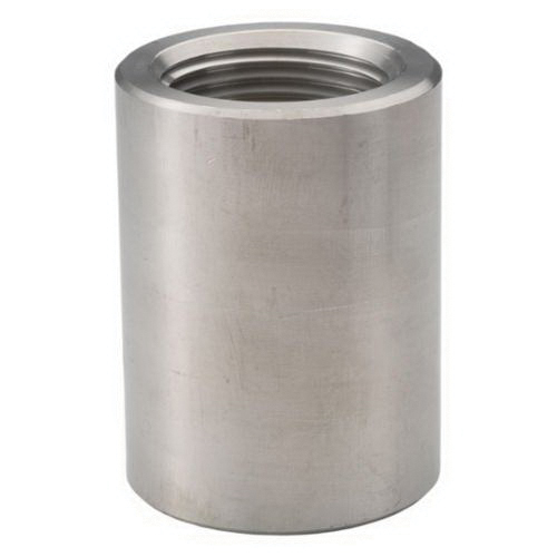 316 Stainless Steel Class 3000 Forged Coupling, 1 in, Threaded, Import