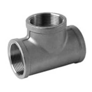 Steel Class 3000 Forged Tee, Threaded, Import