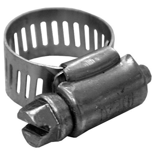 Stainless Steel Full Size Worm Gear Clamp, #6, 3/8 - 7/8 in Dia