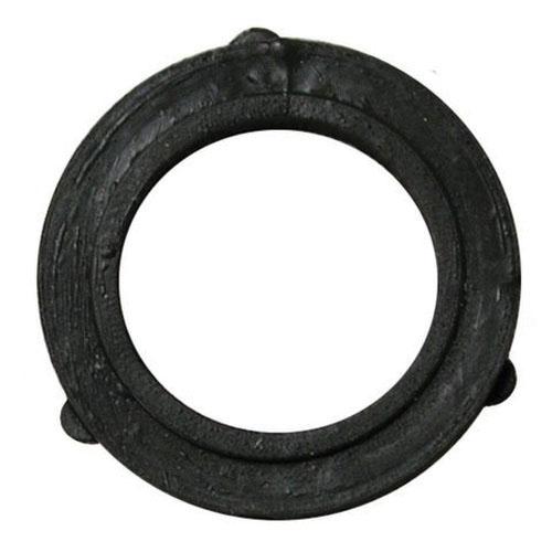 Black Vinyl Garden Hose Washer, 3/4 in