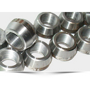 304L Stainless Steel Class 3000 Threadolet, Flat x 1/4 in, Threaded