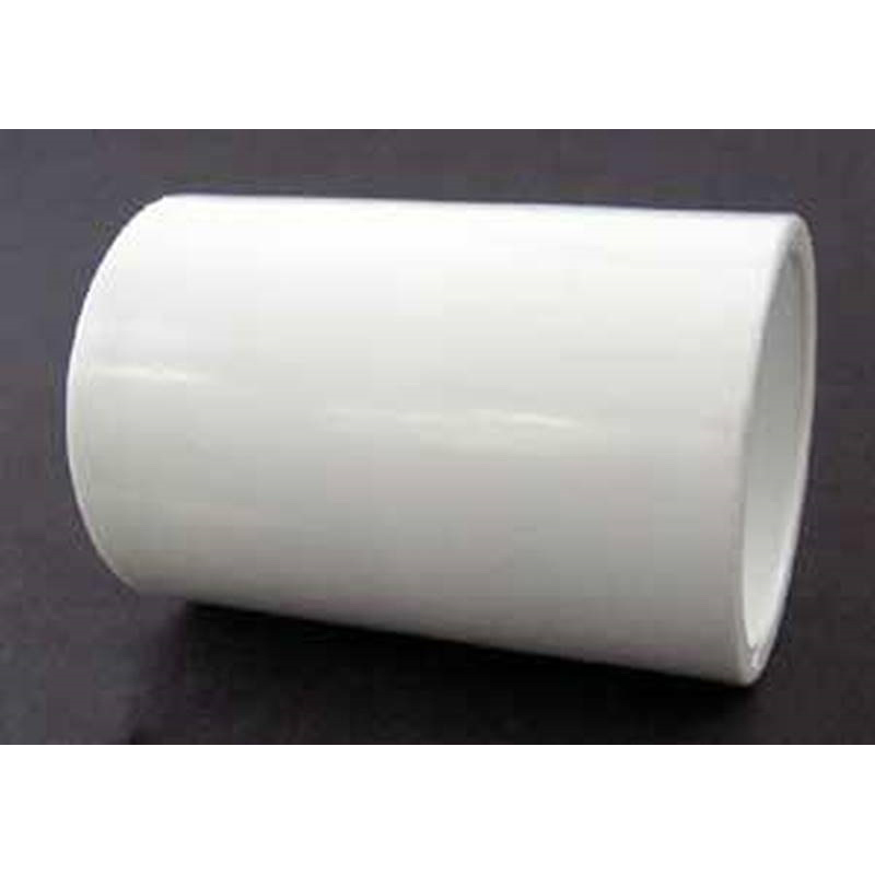 White PVC Class 150 SCH 40 Coupling, Socket