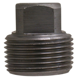 Steel Class 3000 Forged Square Head Plug, Threaded, Import