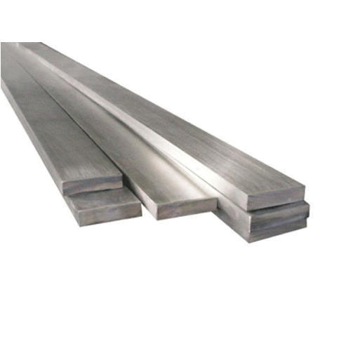 304 Stainless Steel Flat Bar, 1/4 in x 4 in x 12 ft