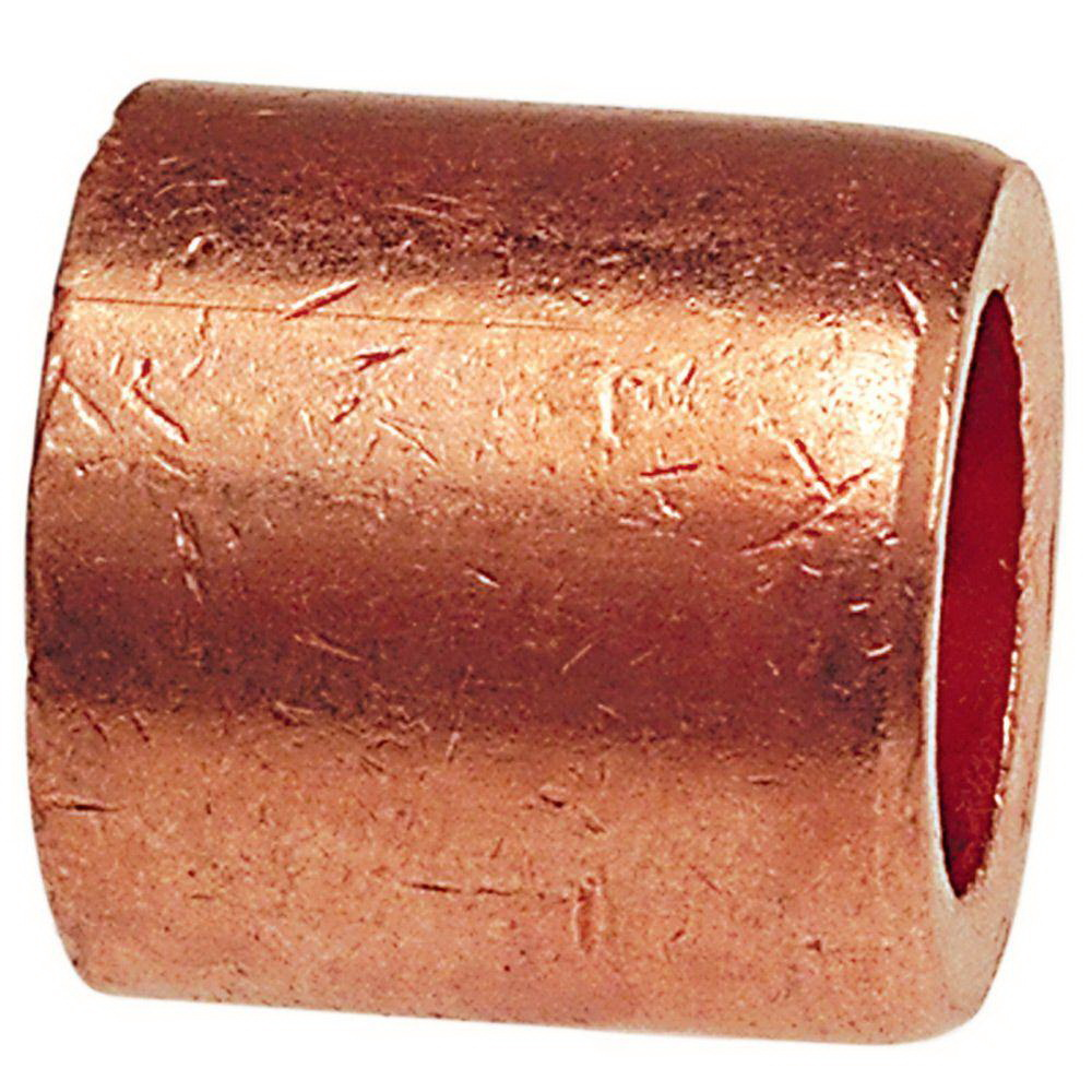 Copper Wrot Flush Style Bushing, 1-1/4 in x 1 in, Fitting x Copper