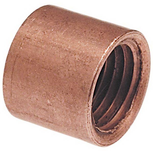 Copper Wrot Flush Style Bushing, 1/2 in x 1/4 in, Fitting x FNPT