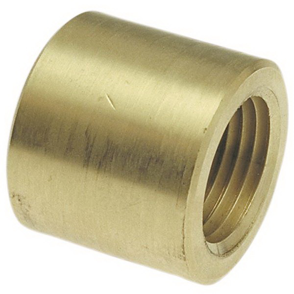 Bronze Cast Flush Style Bushing, 1 in x 1/2 in, Copper Fitting x FNPT