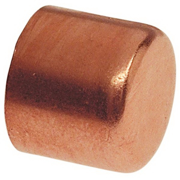 Copper Tube Cap, Copper