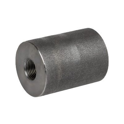 Carbon Steel Class 3000 Forged Reducing Coupling, 3 in x 2 in, Threaded, Import