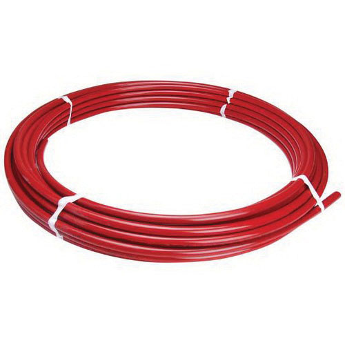 Red PEX Coiled Tube, 3/4 in x 100 ft