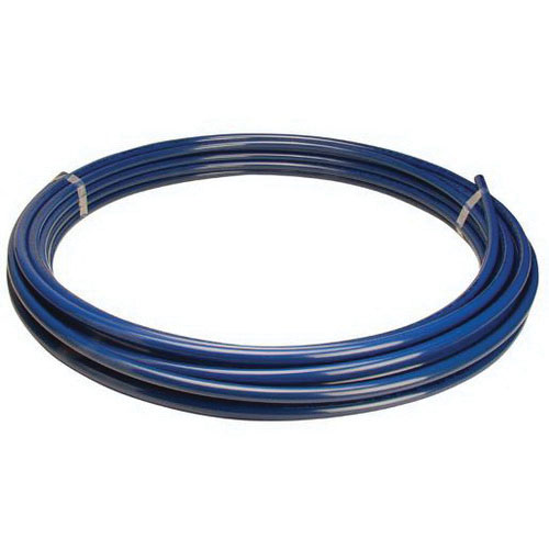 Blue PEX Coiled Tube, 1/2 in x 100 ft