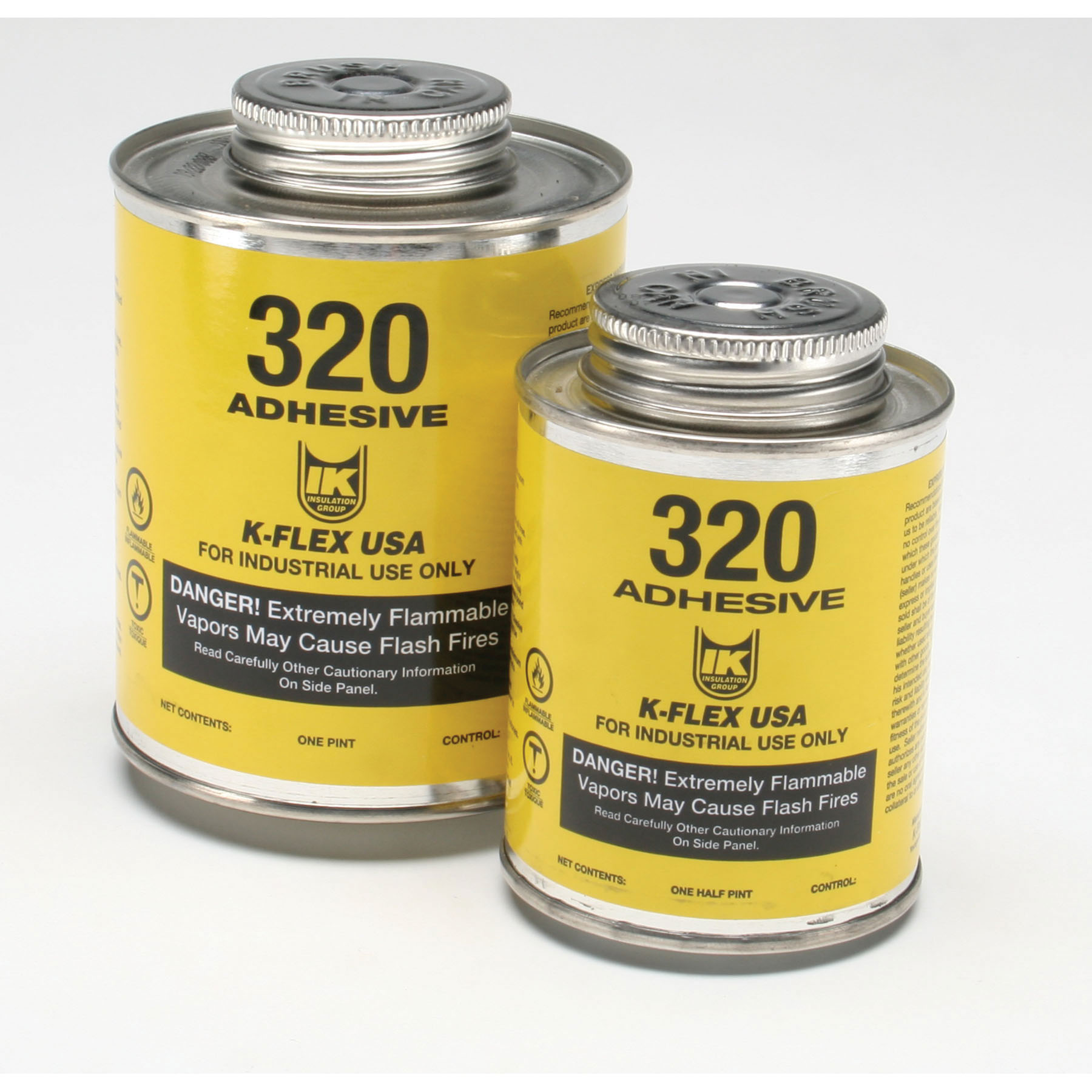 Contact Adhesive, 1 pt Can, Amber