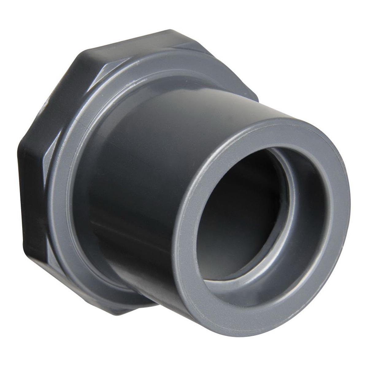 CPVC SCH 80 Flush Style Reducer Bushing, 3/8 in x 1/4 in, Spigot x Socket