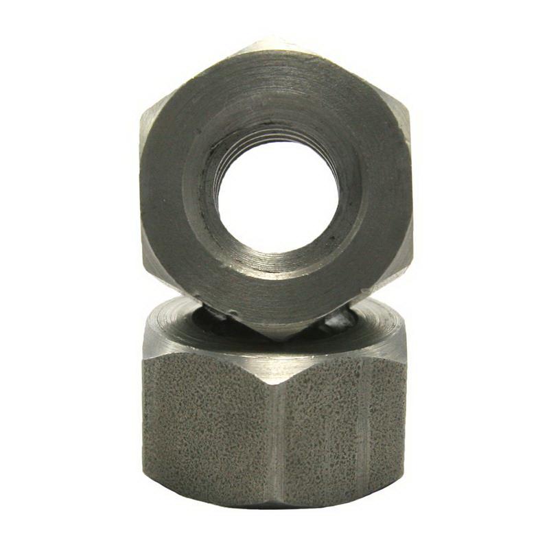 Grade A Plain Carbon Steel Heavy Hex Nut, 1/2-13 UNC