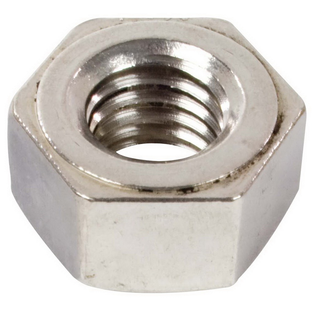 Grade 18-8 Plain Stainless Steel Heavy Hex Nut, 1/2-13 UNC