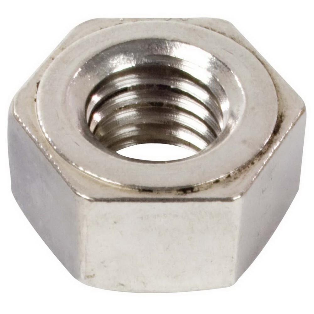 Grade 18-8 Plain Stainless Steel Heavy Hex Nut, 3/4-10 UNC
