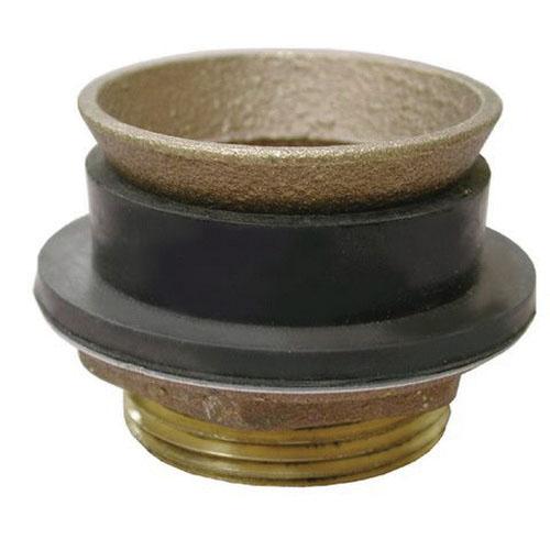 Cast Brass Urinal Spud, 1 in x 3/4 in