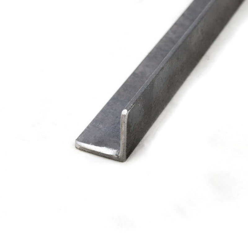 Galvanized Carbon Steel Angle, 1-1/4 in x 1-1/4 in x 1/4 in