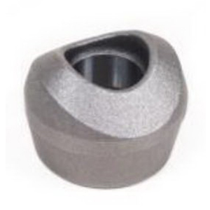Silver Steel Class 3000 Forged Sockolet, 8 in x 4 in, Socket Weld, Import