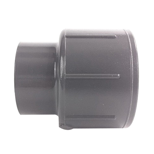 PVC SCH 80 Reducer Coupling, 2 in x 1-1/2 in, Socket