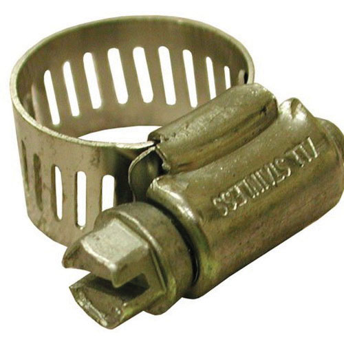 Stainless Steel Full Size Worm Gear Clamp, #88, 4 - 6 in Dia