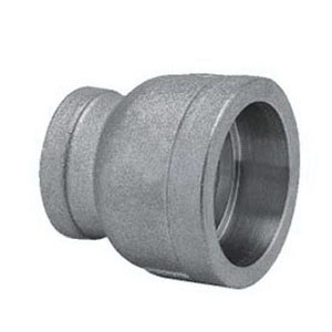 316 Stainless Steel Class 150 Reducing Coupling, 3/4 in x 1/2 in, Socket Weld, Import, 25/BX