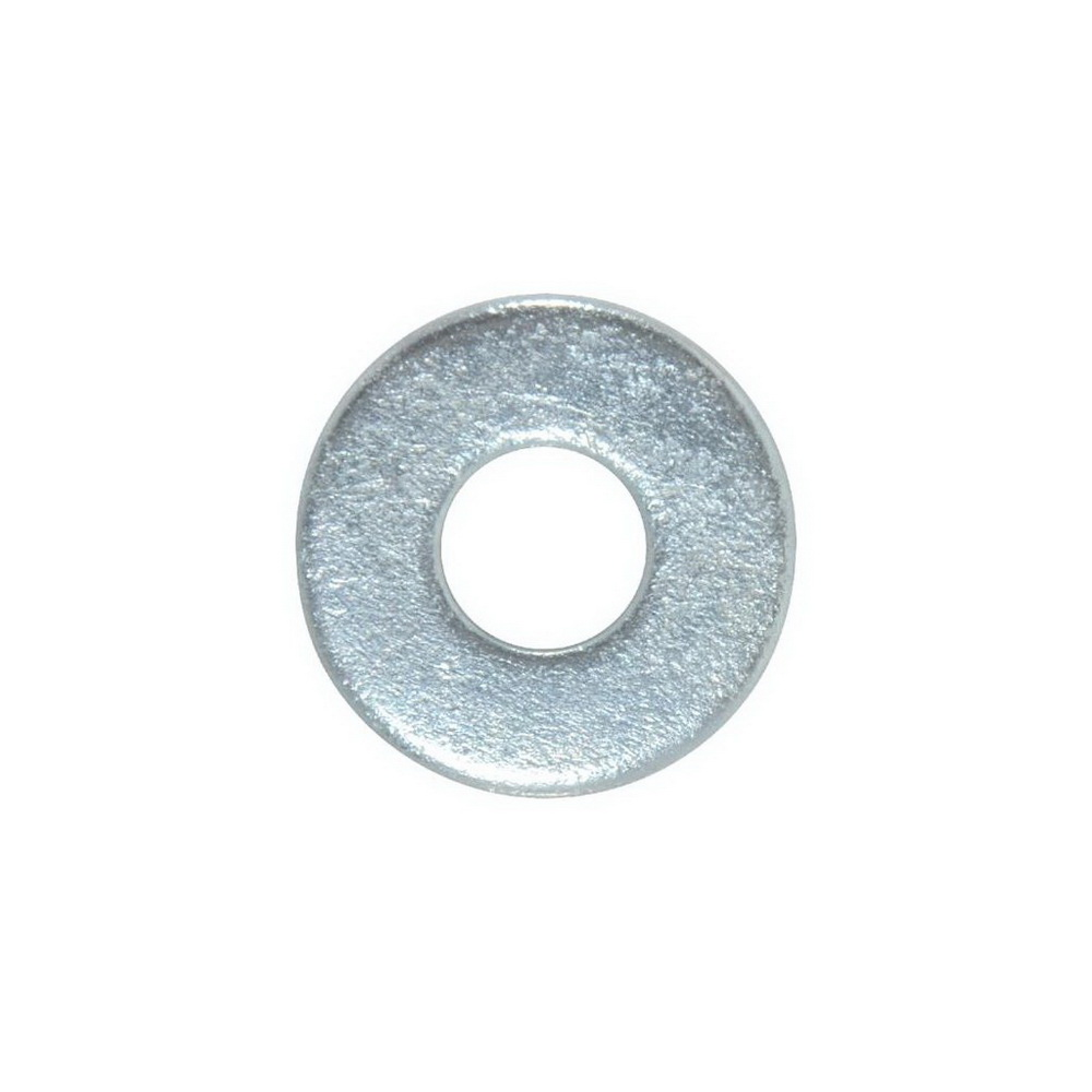 Grade 2 Zinc Plated Carbon Steel USS Flat Washer, 1/2 in