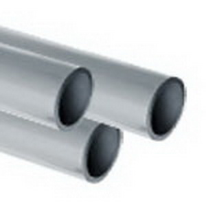 Light Gray CPVC SCH 80 Pipe, 20 ft, Plain End