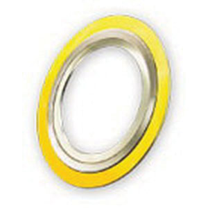 304 Stainless Steel Inner Ring Carbon Steel Outer Ring Flexicarb Graphite Filler Class 300/400/600 Spiral Wound Gasket, 2-1/2 in