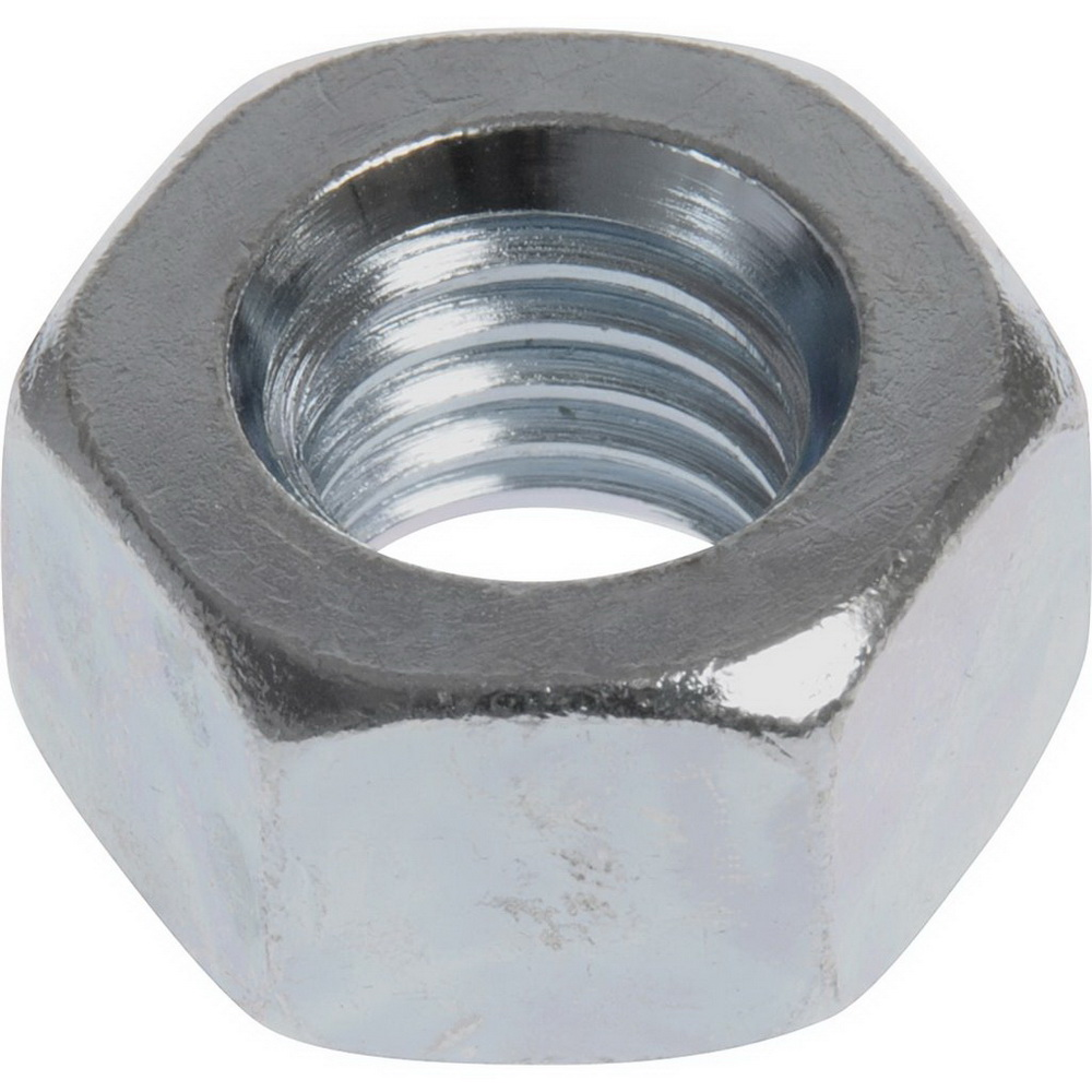 Grade A Zinc Plated Carbon Steel Hex Nut, 7/8-9 UNC