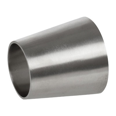 304 Stainless Steel Sanitary Concentric Reducer, 2 in x 1-1/2 in, Weld