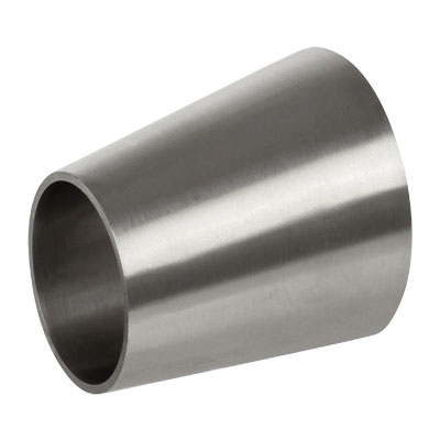 304 Stainless Steel Sanitary Eccentric Reducer, 3 in x 2 in, Weld