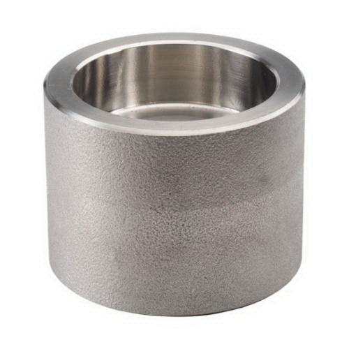304/304L Stainless Steel Class 3000 Forged Reducing Coupling, 1-1/2 in x 1 in, Socket Weld, Import, 1/PK