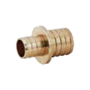 Brass Reducer Coupling, 1 in x 3/4 in, PEX Barb
