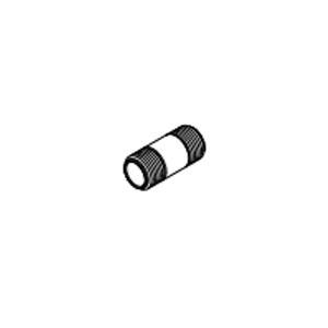 PVC SCH 80 Pipe Nipple, 1-1/4 in x 8 in L, Standard, 25/CT