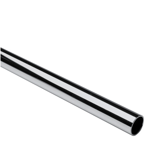 Polished 304 Stainless Steel Welded Sanitary Tube, 6 in