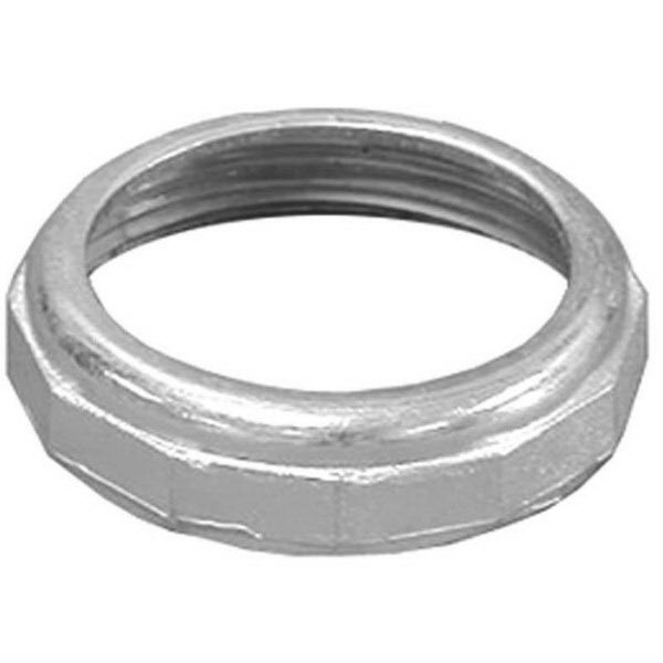 Chrome Die Cast Zinc Slip Joint Nut, 1-1/2 in x 1-1/4 in, IPS x Tube