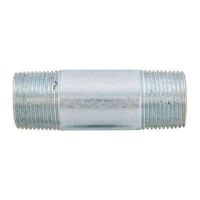 Aluminum SCH 40 Pipe Nipple, 1-1/4 in x 4 in L