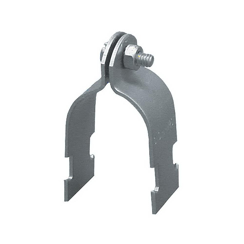 Electro Galvanized Carbon Steel Rigid Conduit Pipe Clamp