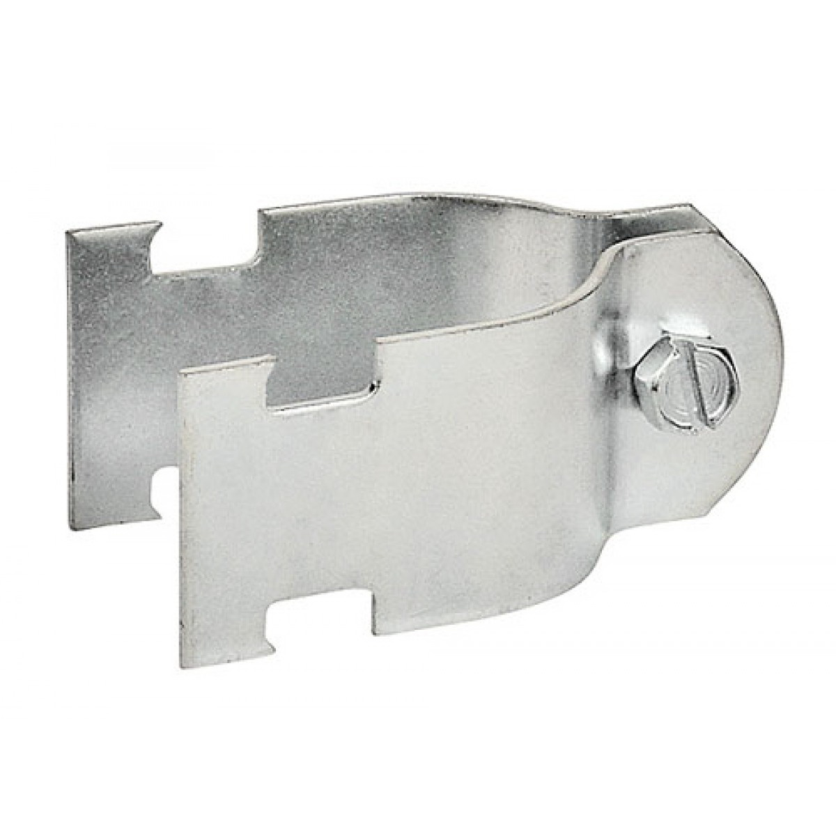 Zinc Coated Conduit Clamp, 1/2 in OD