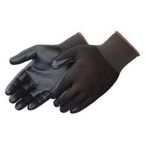 Nitrile Rubber Gloves, XL, Black