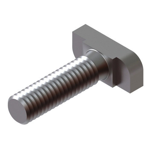 T-Head Bolt with Nut, 1-1/4 in x 8-1/2 in