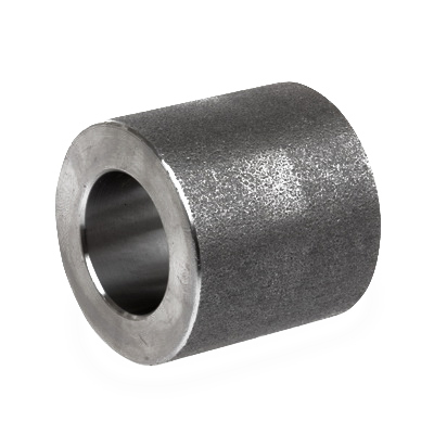 Carbon Steel Class 3000 Forged Reducing Coupling, 2-1/2 in x 2 in, Socket Weld, Import