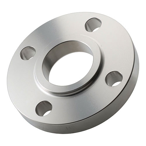304/304L Stainless Steel Class 300 Forged Flat Face Flange, 3 in, Slip-On, Import