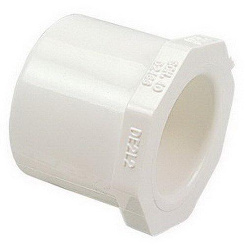 PVC SCH 40 Reducer Bushing, 1 in x 3/4 in, Spigot x Slip